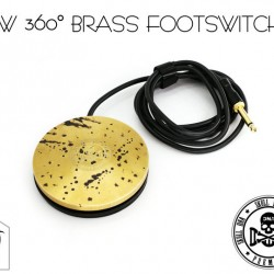 Ava New Skull DNA Brass Footswitch